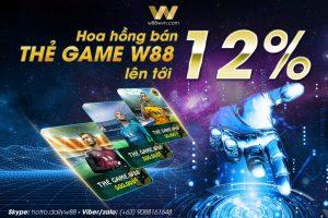Làm đại lý thẻ game W88 để kiếm tiền online