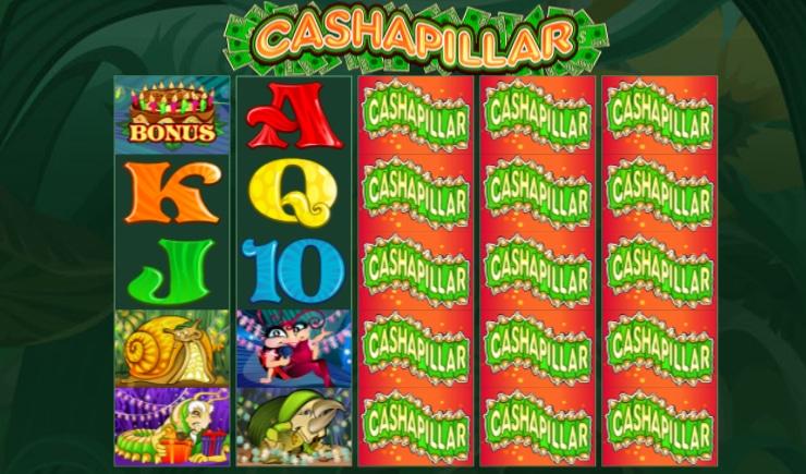 Tìm hiểu cách chơi Cashapillar Slot game tại nhà cái