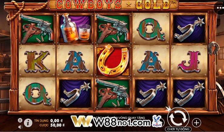 Tìm hiểu cách chơi Cowboys Gold Slot với tỷ lệ thưởng hấp dẫn