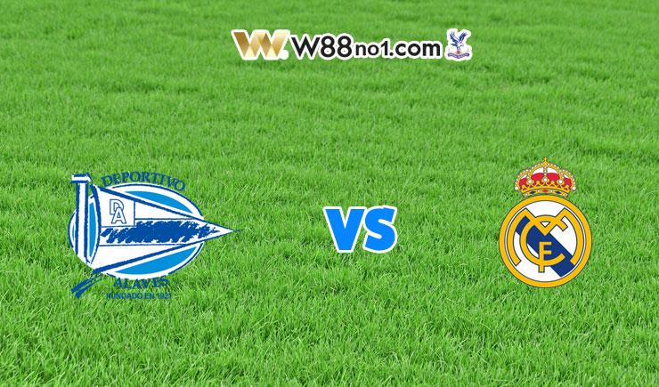 Soi kèo trận Deportivo Alaves vs Real Madrid, 03h00
