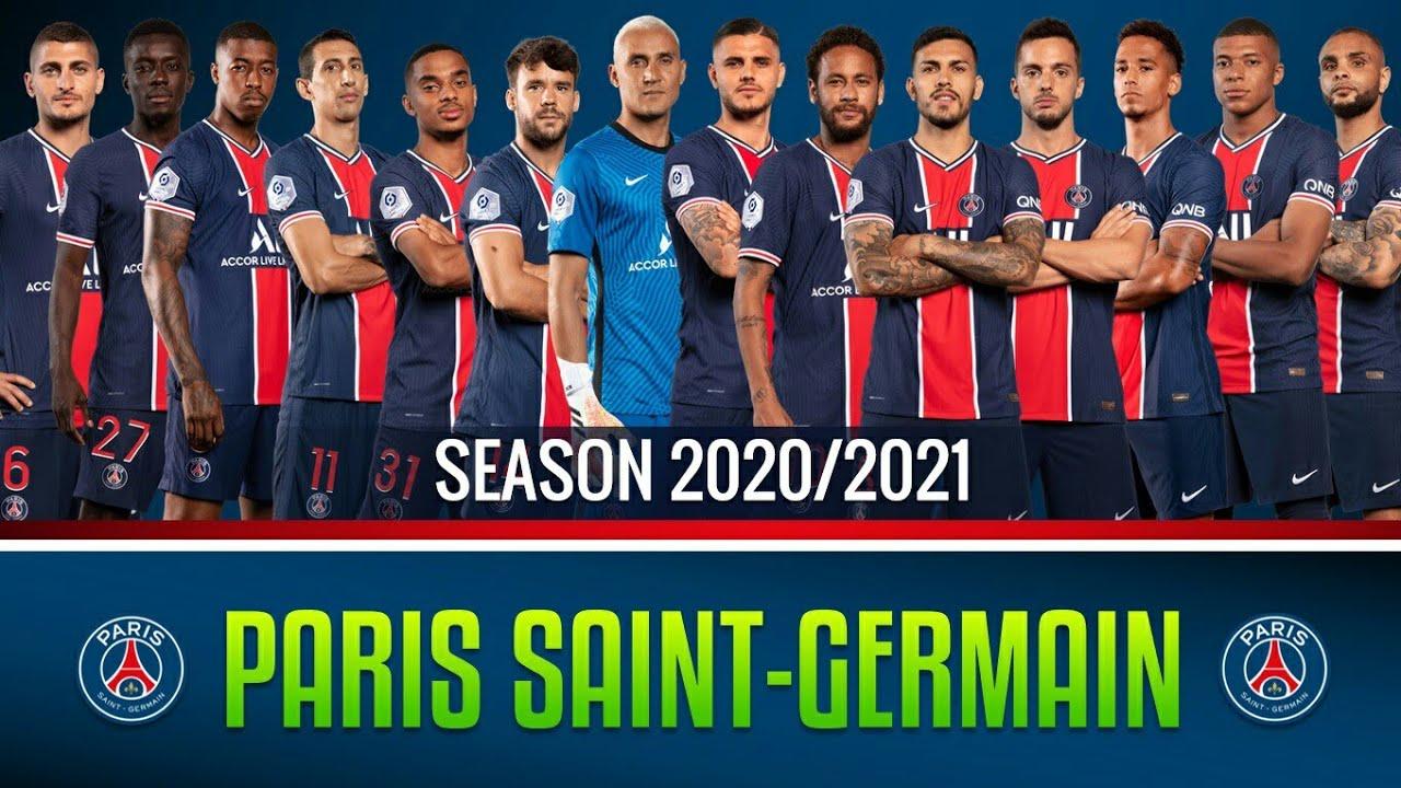 Đội Hình Paris Saint Germain Mạnh Nhất 2021