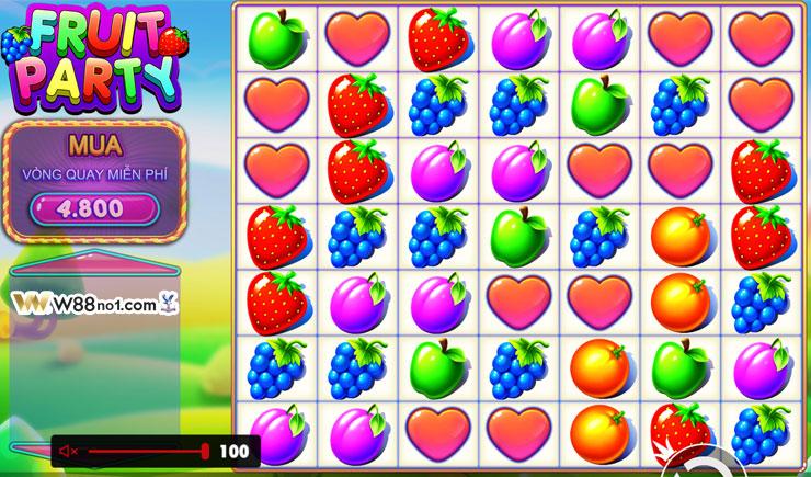 Cách chơi Fruit Party Slot