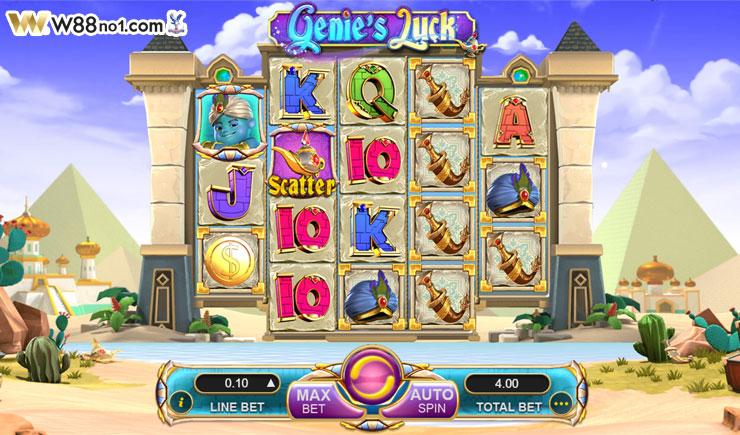 Khám phá cách chơi Genie's Luck Slot