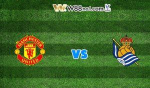 Soi kèo Manchester United vs Real Sociedad, 03h00
