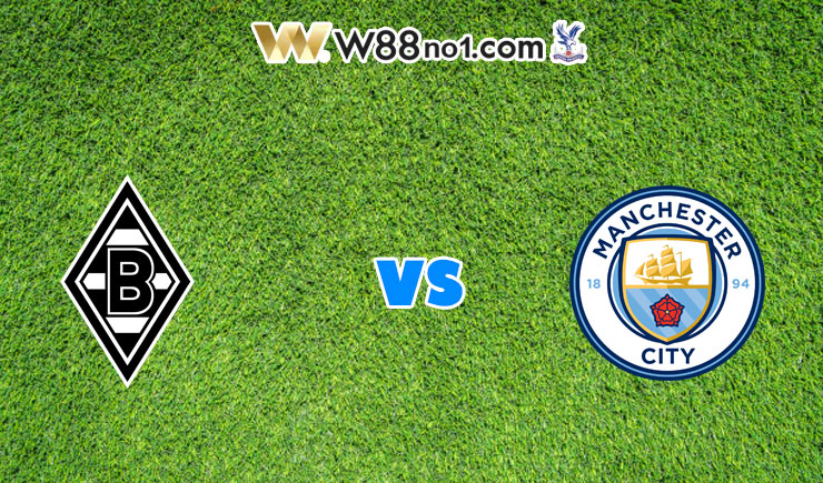 Soi kèo trận M'gladbach vs Manchester City, 03h00