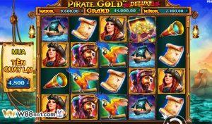 Hướng dẫn cách chơi Pirate Gold Deluxe Slot tại nhà cái