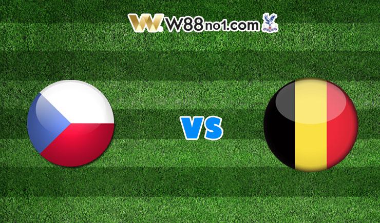 soi kèo Cộng Hòa Séc vs Bỉ