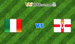Soi kèo nhà cái trận Italia vs Bắc Ireland, 02h45
