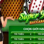 Hướng Dẫn Chơi Game Super98 Baccarat tại W88