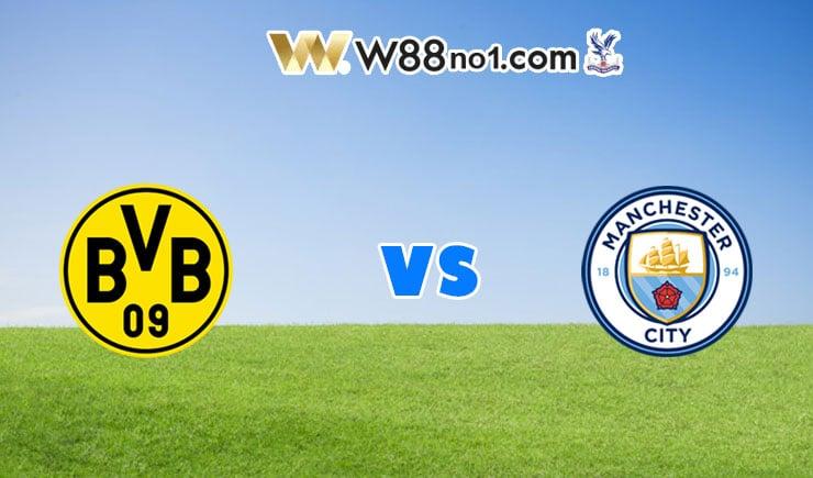 soi kèo Dortmund vs Manchester City